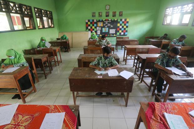 sekolah, pendidikan tatap muka, covid-19, virus corona