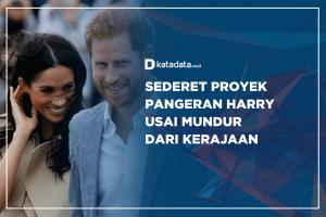 Sederet Proyek Pangeran Harry Usai Mundur dari Kerajaan