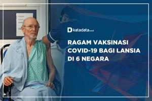 Ragam Vaksinasi Covid-19 Bagi Lansia Di 6 Negara