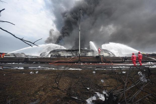 pertamina, kilang balongan, kebakaran kilang balongan