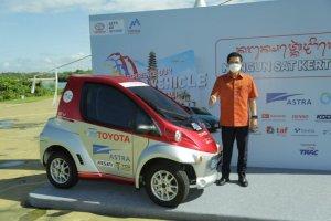Mobil listrik berbasis baterai Toyota COMS