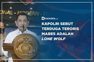 Kapolri Sebut Terduga Teroris Mabes Adalah Lone Wolf