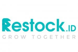 Logo Restock ID. CEO Restock telah berganti dari Muhammad Farid kepada Tiar Nabilla Karbala.