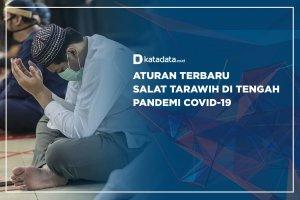 Aturan Terbaru Salat Tarawih di Tengah Pandemi Covid-19