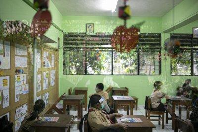 Uji Coba Sekolah Tatap Muka di Jakarta