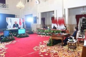 Jokowi menghadiri KTT D-8 secara virtual