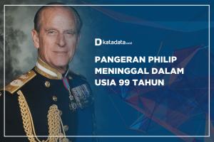 Pangeran Philip meninggal usia 99 tahun