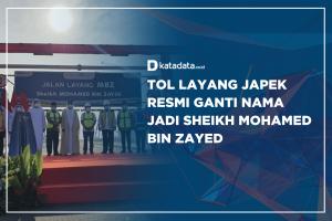 Tol Layang Japek Resmi Ganti Nama Jadi Sheikh Mohamed Bin Zayed
