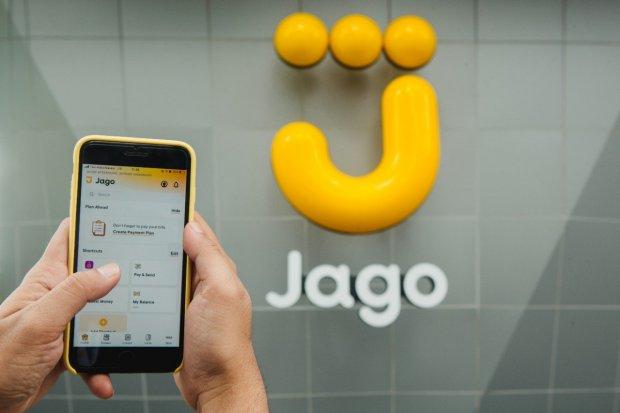 bank jago, ribbit, saham bank jago, bank digital