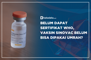 Belum Dapat Sertifikat WHO, Vaksin Sinovac Belum Bisa Dipakai Umrah?