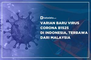 Varian Baru Virus Corona B1525 di Indonesia, Terbawa dari Malaysia