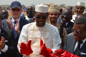 Presiden Chad Idriss Deby