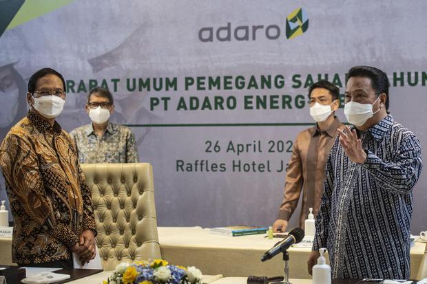 Adaro, Adaro Energi, Saham