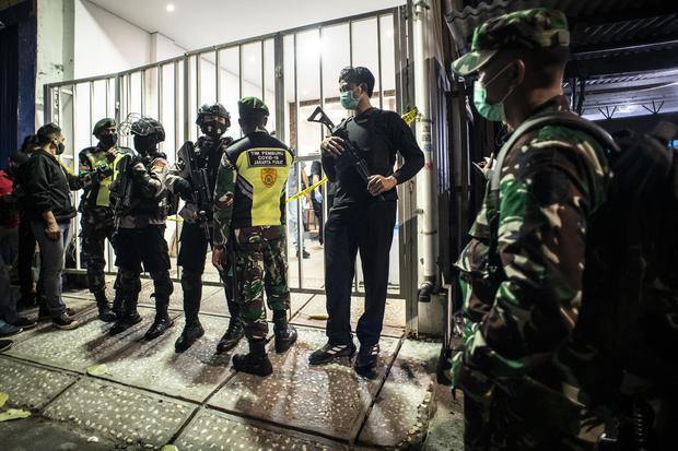 PENGGELEDAHAN BEKAS MARKAS FPI TERKAIT TERORISME