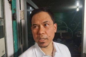 Pengacara Rizieq Shihab, Munarman ditangkap polisi pada Selasa (27/4). Foto: Antara
