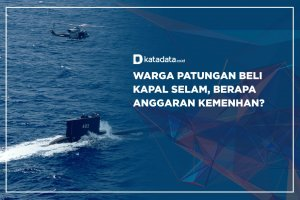 Warga Patungan Beli Kapal Selam, Berapa Anggaran Kemenhan?