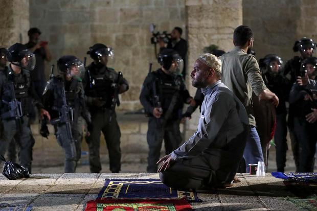 ISRAEL-PALESTINIANS/JERUSALEM-SHEIKH JARRAH