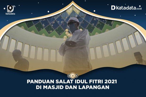 Panduan Salat Idul Fitri 2021 Di Masjid dan Lapangan