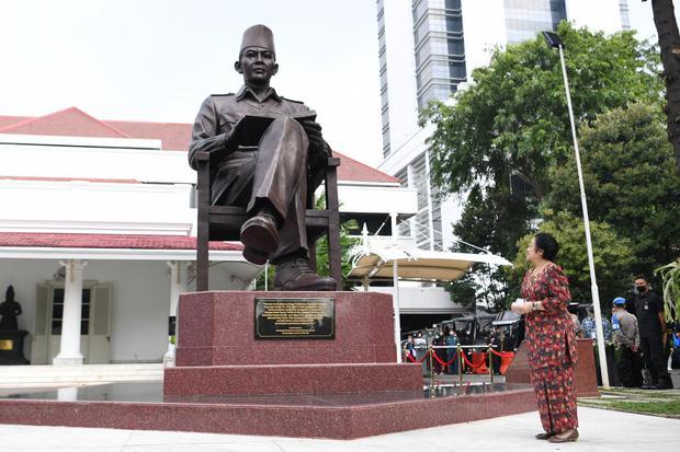 Jokowi, Megawati, BRIN