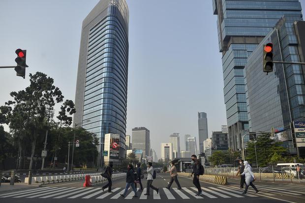 PPKM, pertumbuhan ekonomi, ADB
