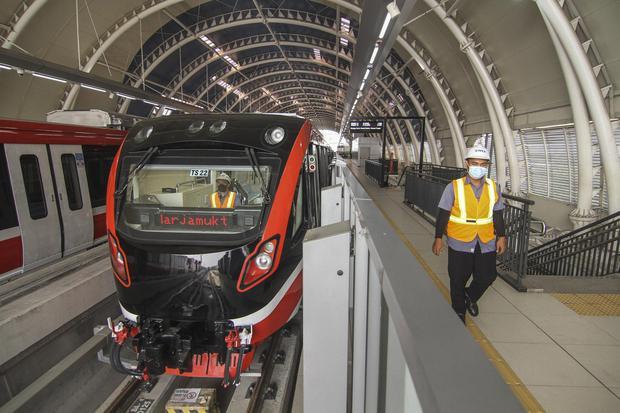 LRT, LRT Jabodebek, infrastruktur, Luhut