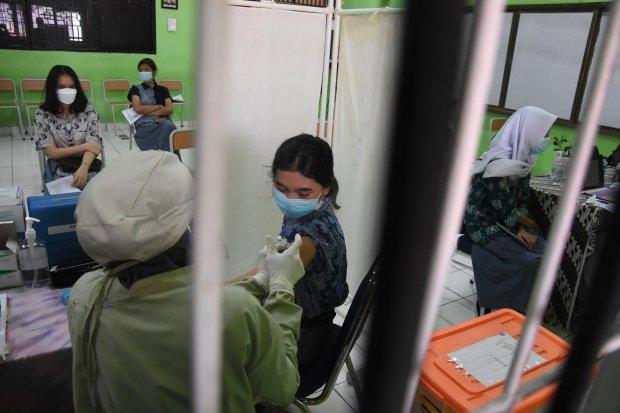 vaksinasi, vaksin covid-19, jakarta, vaksinasi anak