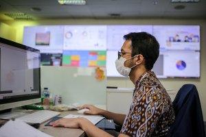 Aktivitas Pekerja Kantor Sektor Esensial di Tengah PPKM Darurat