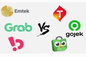 Ekosistem Emtek, Grab, Bukalapak versus Telkomsel, Gojek, Tokopedia