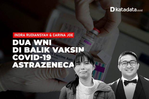 Dua WNI di Balik Vaksin AstraZeneca