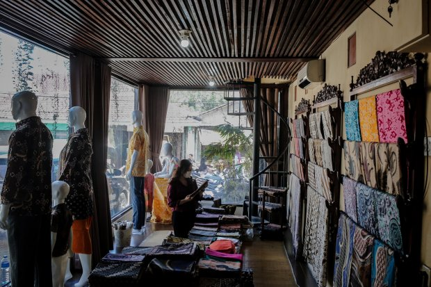 batik, ekspor, Indonesia