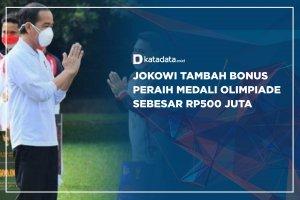 Jokowi tambah bonus medali olimpiade