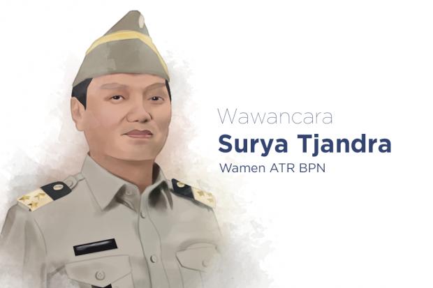 Wakil Menteri Agraria dan Tata Ruang Indonesia Surya Candra
