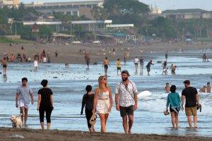 Uji coba pembukaa obyek wisata di Bali