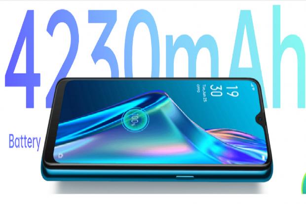 Model Handphone OPPO A12