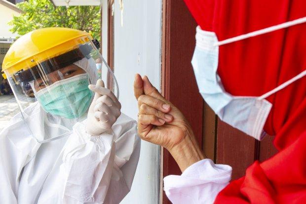 Covid-19, pandemi, gerakan 3M