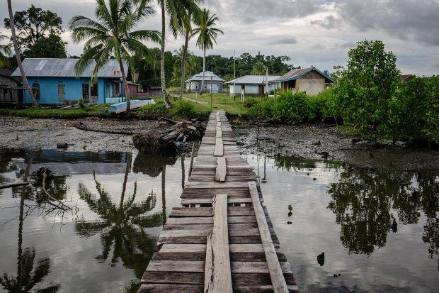 Susana Distrik Segun, Kabupaten Sorong, Papua Barat.