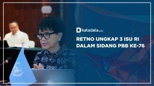 Retno Ungkap 3 Isu RI dalam Sidang PBB ke-76