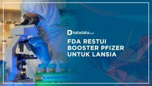 FDA Restui Booster Prizer untuk Lansia