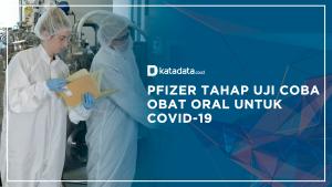 Pfizer Tahap uji Coba Obat Oral untuk Covid-19