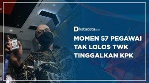Pegawai KPK Tak Lolos TWK