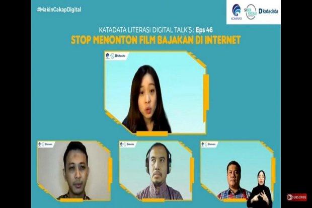 Stop menonton film bajakan di internet