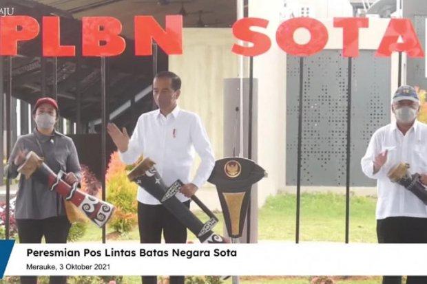 Jokowi, PLBN Sota, papua