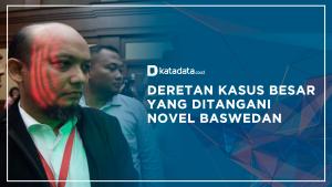 Resmi Dipecat, Berikut Deretan Kaus Besar yang Ditangani Novel Baswedan