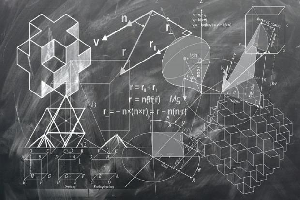 Ilustrasi rumus volume kubus
