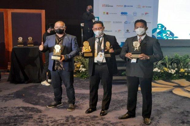 Pos Indonesia Raih 4 Penghargaan TOP GRC Awards 2021