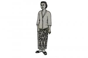 Gambar pakaian adat Madura untuk wanita bangsawan