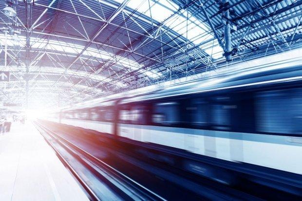 Ilustrasi kereta cepat