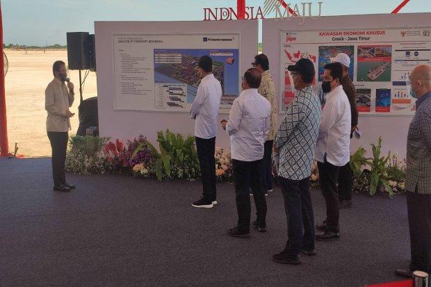 Jokowi, Freeport, smelter, emas, tembaga