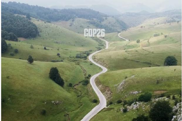 Jokowi, COP26,katadata road to cop26