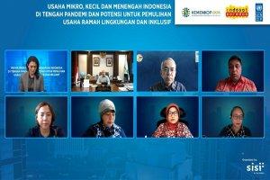 Survei UNDP: 95 Persen UMKM Berminat Terapkan Usaha Ramah Lingkungan
